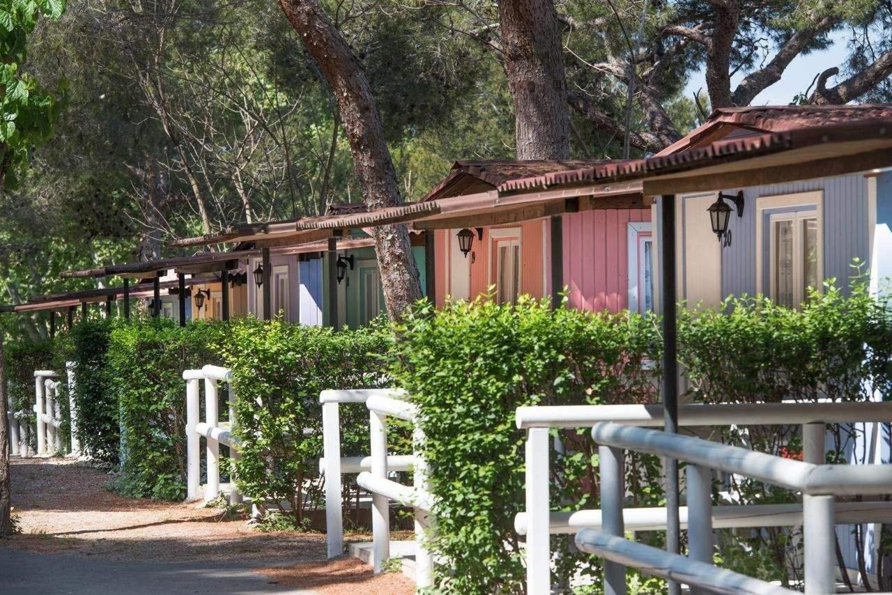 Camping con bungalows en Tamarit, Altafulla, Tarragona